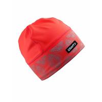 CRAFT Brilliant Hat 2.0 Shock Bežecká čiapka Oranžová