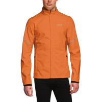 GORE Essential WINDSTOPPER® Active Shell Partial Jacket Oranžová