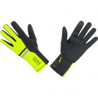 GORE Mythos WINDSTOPPER® Rukavice Neon Yellow/Black