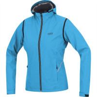 GORE Essential Lady WINDSTOPPER® Zip Off Jacket Modrá Veľkosť: L