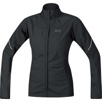 GORE Essential Lady WINDSTOPPER® Active Shell Partial Jacket Black Veľkosť: L