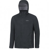 GORE Essential Active Hooded Jacket Men Čierna