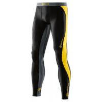 pánske nohavice Skins DNAmic DA99050019238 Black/Citron Veľkosť: S