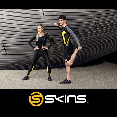 Bežecké oblečenie SKINS